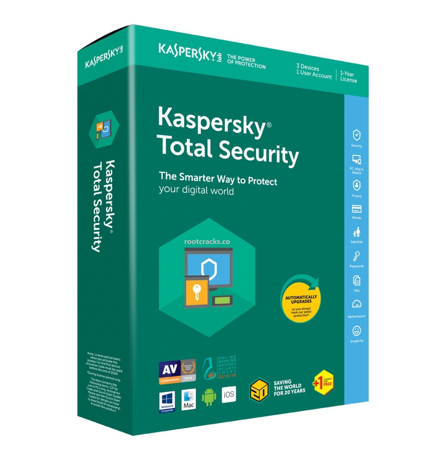 Kaspersky Total Security 2020 Crack Plus Activation Code Free Download